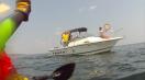 Hampton Rotarians on boat